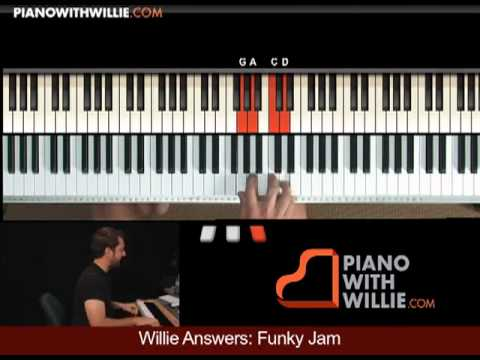 Wiilie Answers 16: Creating A Funk Groove A section (m5)