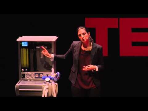 TEDxMidAtlantic 2011 - Erica Frenkel - Demonstrating the Universal Anesthesia Machine