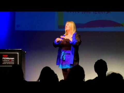 TEDxFiDiWomen - SARK (Susan Rainbow Ariel Kennedy) - Succulence is Powerful