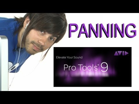 Panning - Pro Tools 9