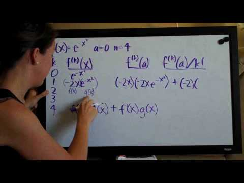 Taylor Polynomial Example 3 PART 1/3