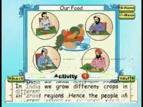Our Food - Kids Animation Learn Series