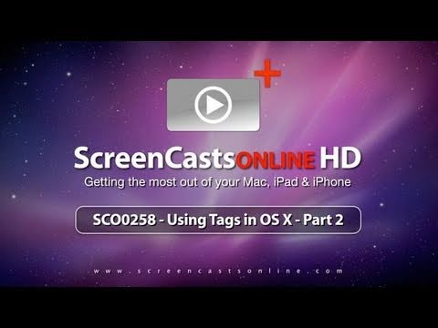 SCO0258 - Tagging on OSX - Part 2