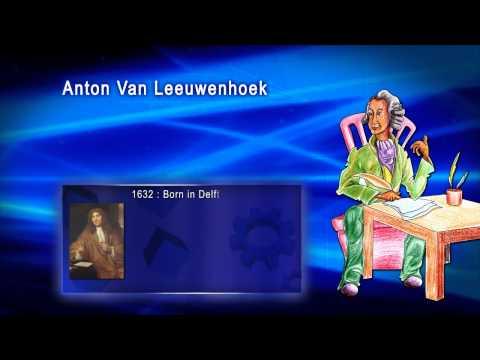 Top 100 Greatest Scientist in History For Kids(Preschool) - ANTON VAN LEEUWENHOEK