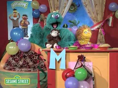 Sesame Square: The Letter M
