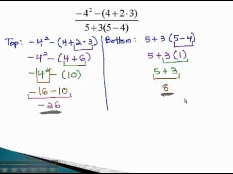 Order of Operations - Fractions - YouTube.mp4