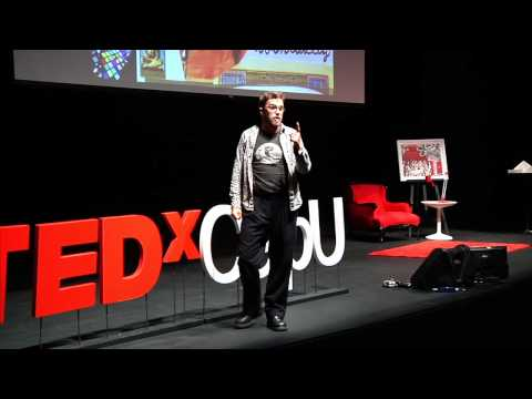TEDxCAPU- David Olson-On the road to creativity