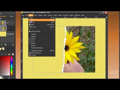 Tear up a photo in GIMP -  Cool image manipulation tutorial