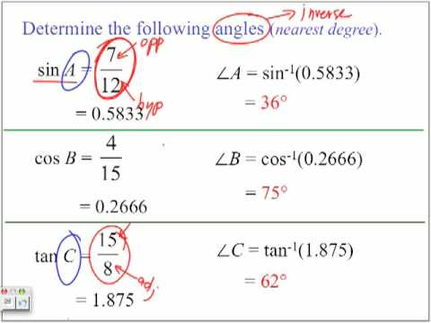 Trig Ratios - Part 3