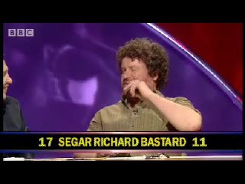 Rory McGrath plays The Name Game! - They Think It's All Over - BBC sport comedy