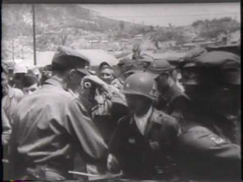 New Commander. Gen. Clark Succeeds Ridgway As UN Chief 1952 Newsreel