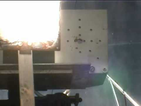 Space Shuttle Tile in Solar Furnace.wmv