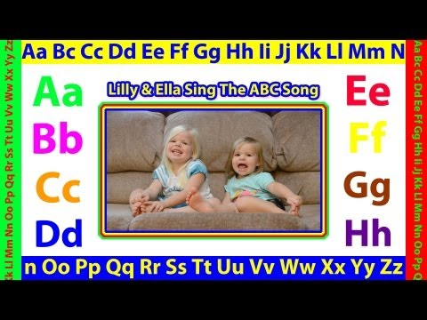 The ABC Song - Alphabet Letters by Lilly & Ella