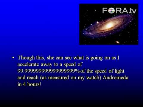 Wormholes and Time Travel - Ian Morison
