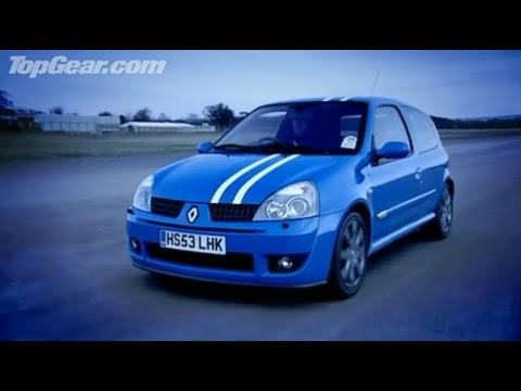 Top Gear - Renault Clio 182 - BBC