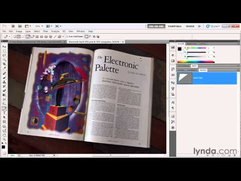 Photoshop: Drawing with the Pen tool | lynda.com tutorial