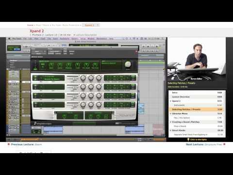 Pro Tools: Xpand 2