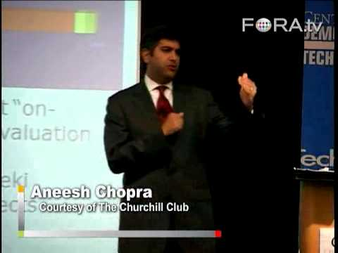 Promoting IT Transparency for Federal Government - Aneesh Chopra