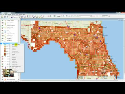 Part 2: Vector To Raster Grid Conversion - Example Of Calculation Of Risk To Real Estate