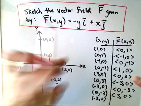 Vector Fields - Sketching