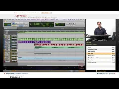 Pro Tools: Edit Window
