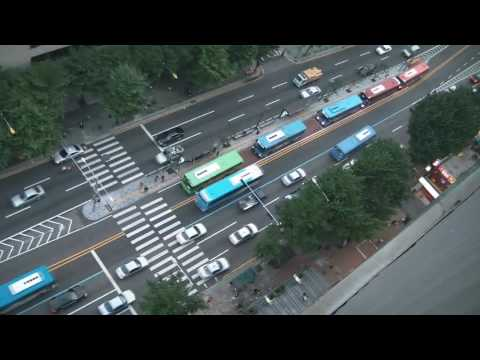 View from a tall building in Sinchon