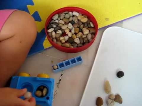 Toddler - Math. Number amounts game