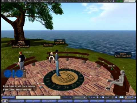 Second Life: Week 1a Chat (410)