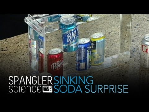 Sinking Soda Surprise - Cool Science Experiment