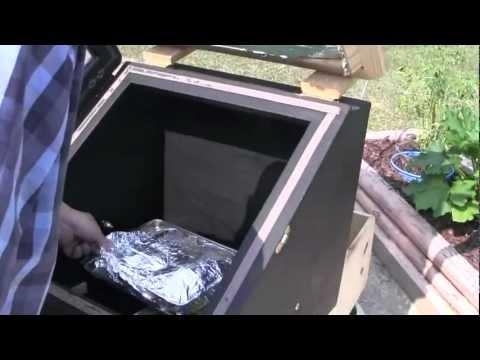 solar oven meat loaf