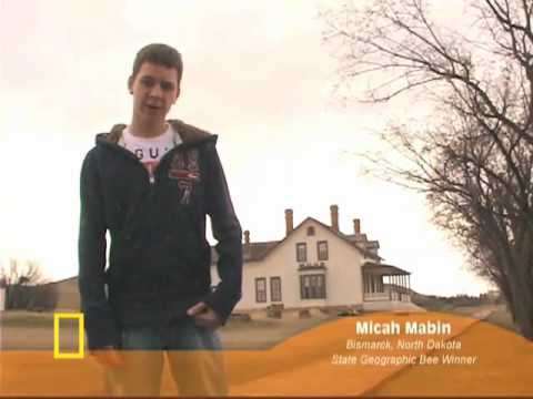 National Geographic Bee 2010 - Geographic Bee 2010 - ND Finalist