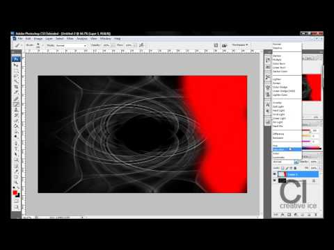 Photoshop Tutorial : How to make a colorful abstract background