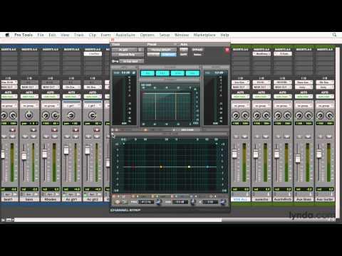 Pro Tools overview: Introducing the AAX format plug-ins | lynda.com