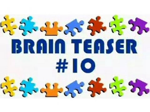 Video Brain Teaser #10