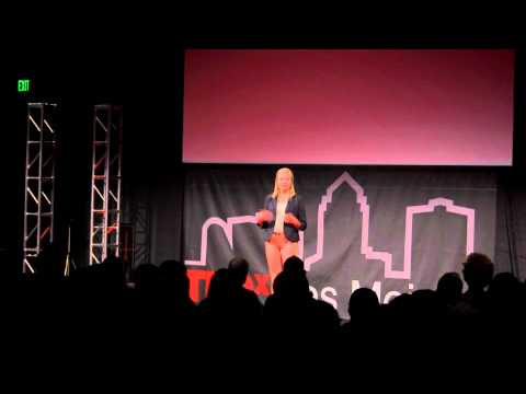 TEDxDesMoines - Clare Barcus - Quit Trying and Triumph