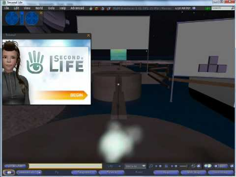 Second Life Tutorial: Beginner Guide-Create Account & Get Started in Second Life