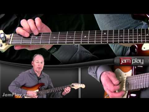 Proud Mary by Creedence Clearwater Revival Guitar Lesson Sample