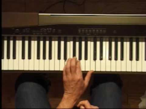Piano Lesson - C Major Triad Inversions (Left Hand)