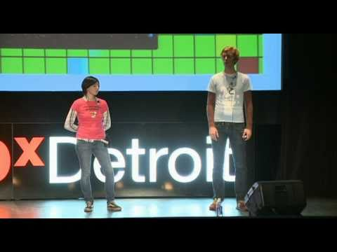 TEDxDetroit - Jerry & Mary - How Big Can You Make an Inch?
