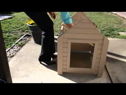 New Age Pet Assembly Dog House