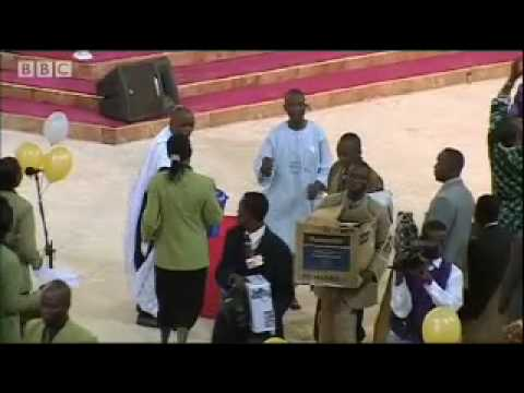 Nigerian Churches - Money and a cure for AIDs? - BBC travel & politics