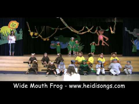 Wide Mouth Frog - Primary Play