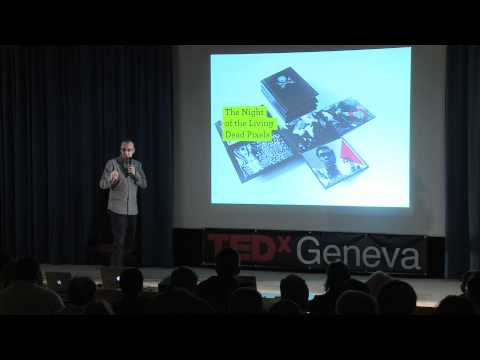 TEDxGeneva - Etienne Mineur - The Book Who Would Like To Be A Video Game