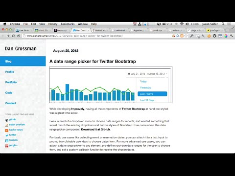 Twitter Bootstrap and JavaScript for Cats | Treehouse Show - Episode 6