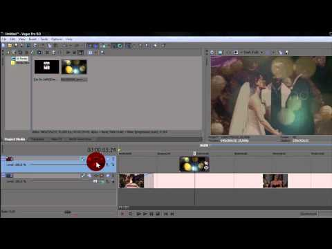 Sony Vegas Tutorial || Add sparkles