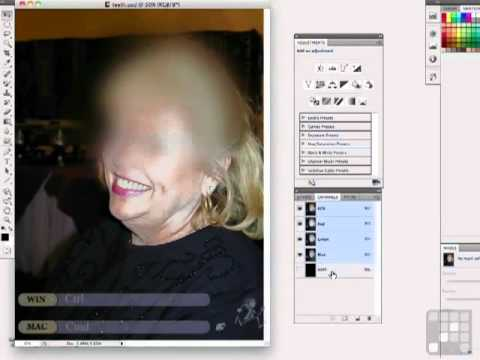 Photoshop Tutorial - Whitening Teeth the Easy way with Photoshop