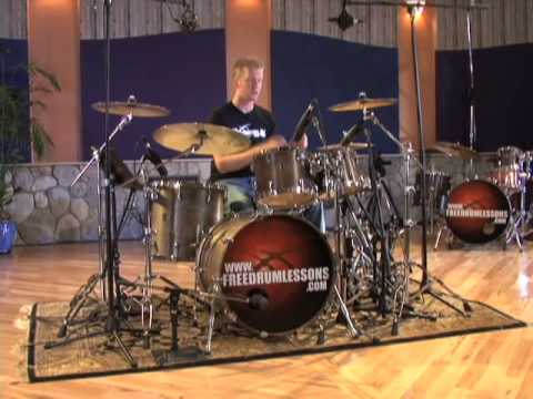 Two Handed 16th Note Beats - Drum Lessons