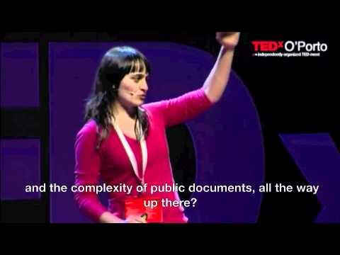 TEDxO'Porto - Sandra Fisher Martins - The Right to Understand [English Subtitled]