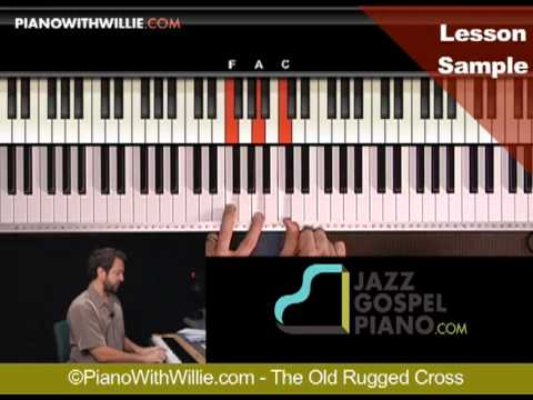 The Old Rugged Cross - Lesson Sample