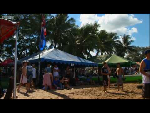 Teaching us to look after the environment - Hawaii - Message in the Waves  BBC